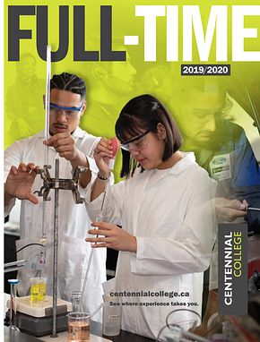 Centennial College Full-time Programs Catalogue 2019-2020